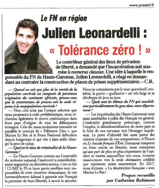 journal-présent-julien-leonardelli-frontnational-haute-garonne-toulouse-12-12-14