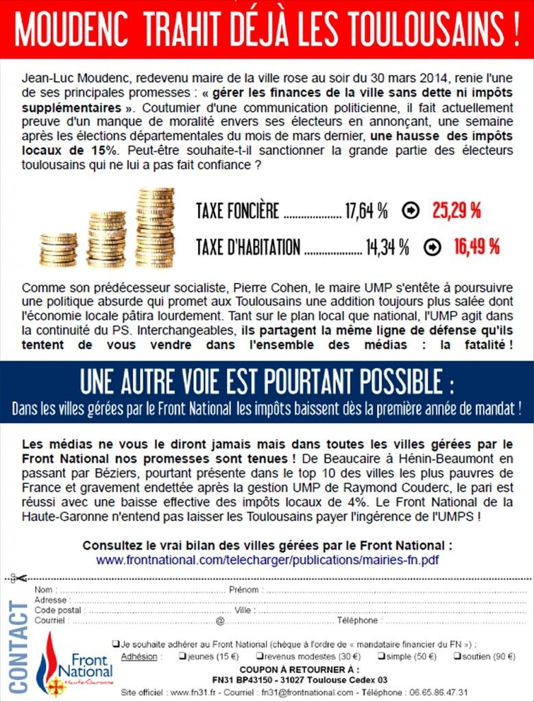 tract_frontnational31_impôts_moudenc_umps_toulouse