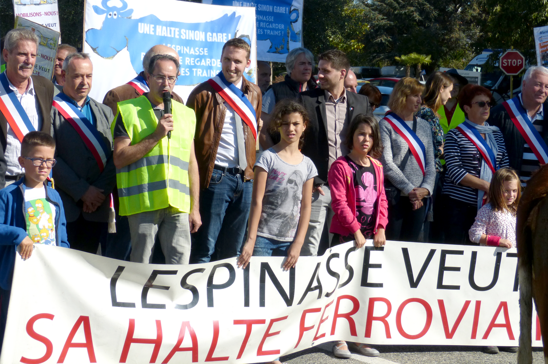 leonardelli_halte_lespinasse_manifestation